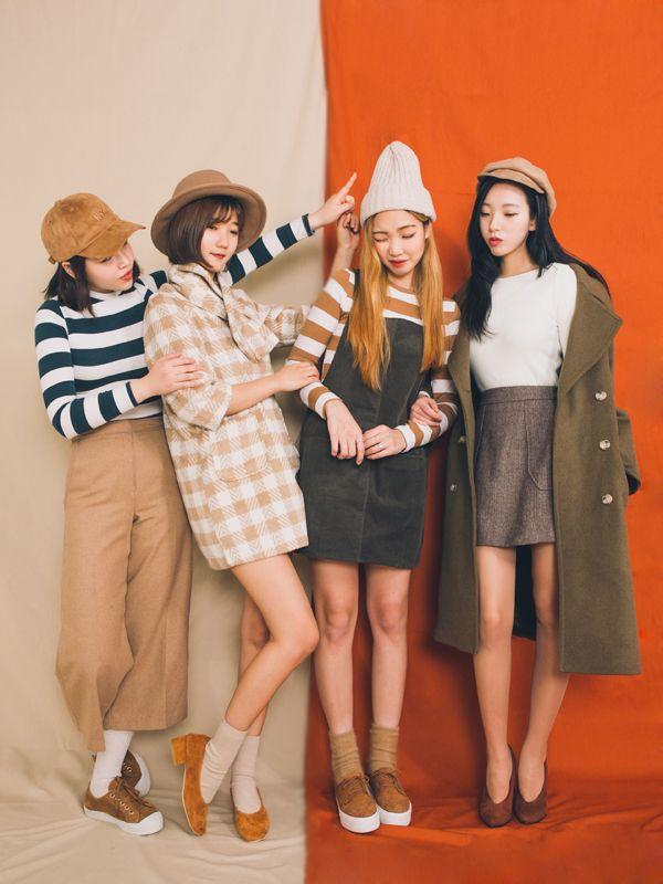 Korean Group Fashion Pinterest