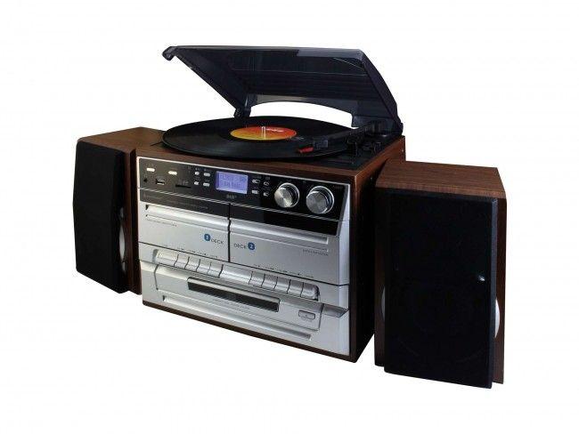 Soundmaster MCD5500DBR - Platenspelers - 123platenspeler.nl