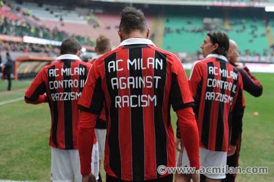 AC Milan against racism