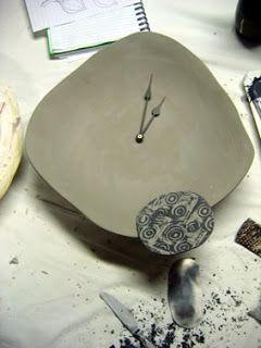 Eucalypt Homewares: Ceramic Clocks