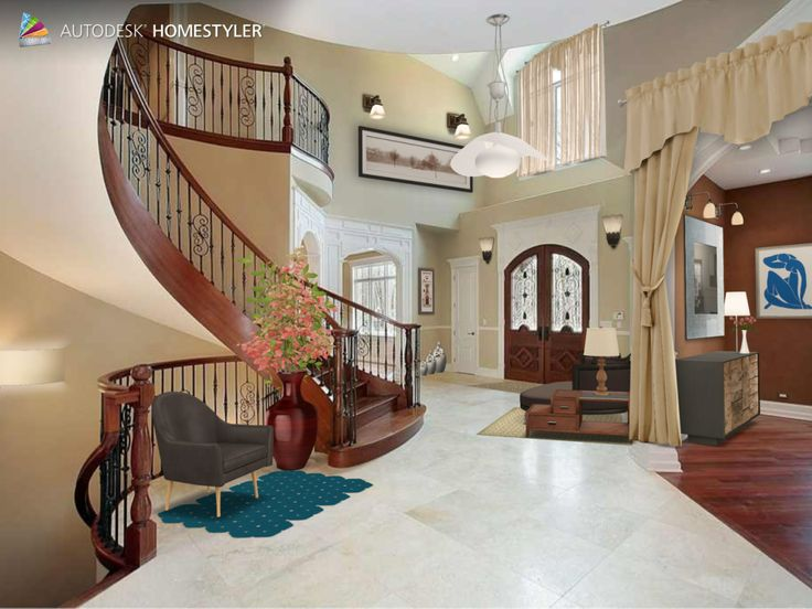 """Check out my #interiordesign """"Hallway"""" from #Homestyler http://autode.sk/1odSrRv"""