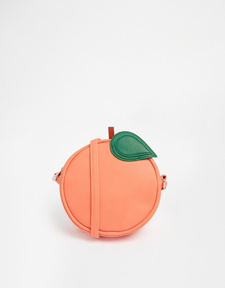 ASOS - Sac bandoulière Pêche - peach bag