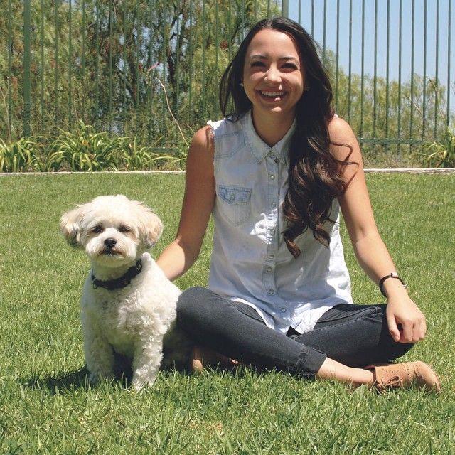 Photo of Veronica Merrell & her Dog