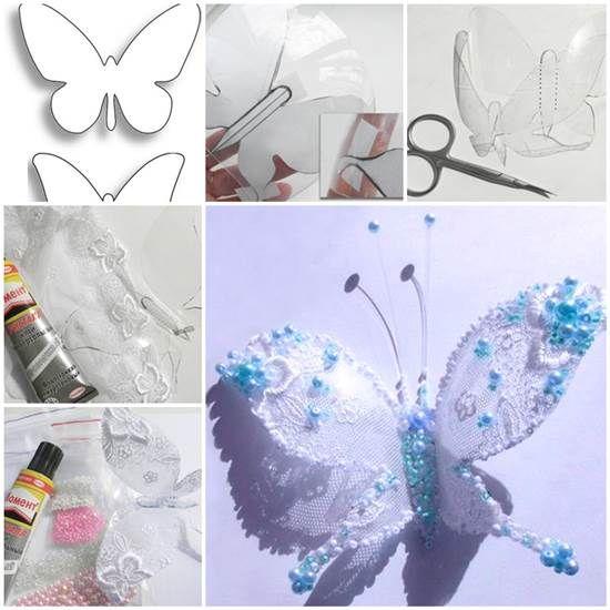 DIY Pretty Butterflies from Plastic Bottles   iCreativeIdeas.com LIKE Us on Facebook ==> https://www.facebook.com/icreativeideas