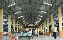 Bus station in Suratthani