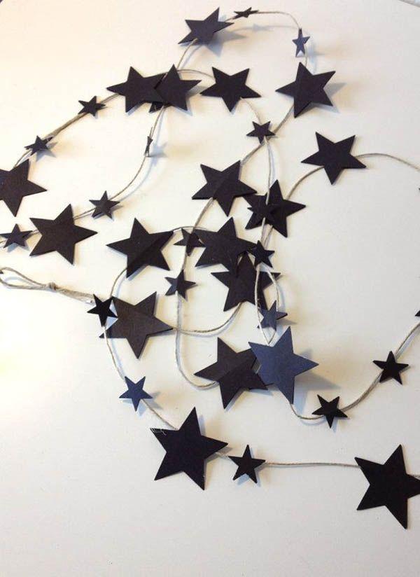 A Monochrome Halloween - 12 Easy DIY's | The Junior