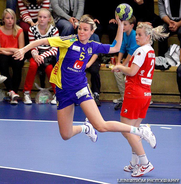Hanna Fogelström i Landskamp Sverige-Island 24-24 ▼3Oct2012LjungströmPhotography http://www.viktorljungstrom.se/bild/57958/person/Hanna%20Fogelstr%C3%B6m #Hanna_Fogelstrom #handball