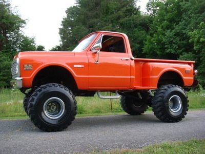 1971 Chevy step side - https://www.pinterest.com/dapoirier/4x4-and-trucks/