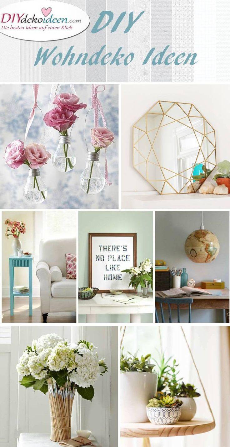 mit diesen diy wohndeko ideen l sst sich sch ner wohnen deko och g r det sj lv. Black Bedroom Furniture Sets. Home Design Ideas
