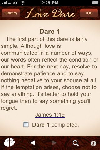 The Love Dare Day 1- why is this so hard? Maybe I'm so selfish... alot harder and more confronting than I thought