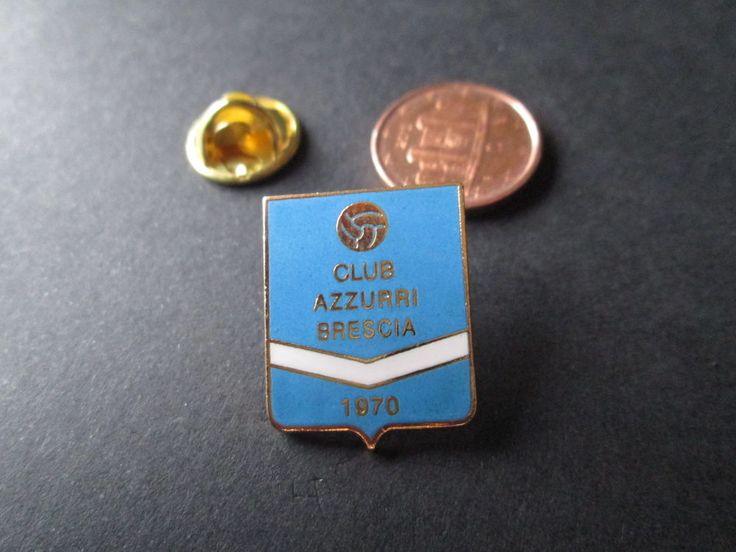 a1 CLUB AZZURRI BRESCIA FC club spilla football calcio soccer pins italia italy