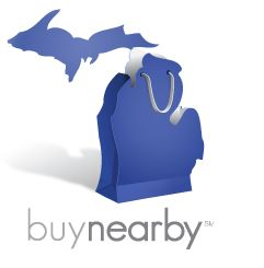 """Buy Nearby Michigan. Get caught """"blue handed"""" on Saturday, October 5 buying in Michigan!"""