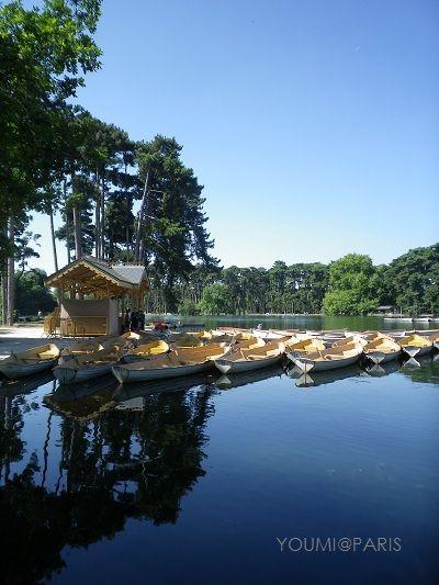 ブローニュの森 / The Bois de Boulogne **from Paris, France**