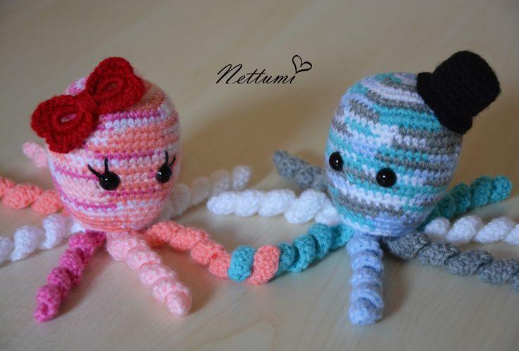 Amigurumi octopus by Nettumi