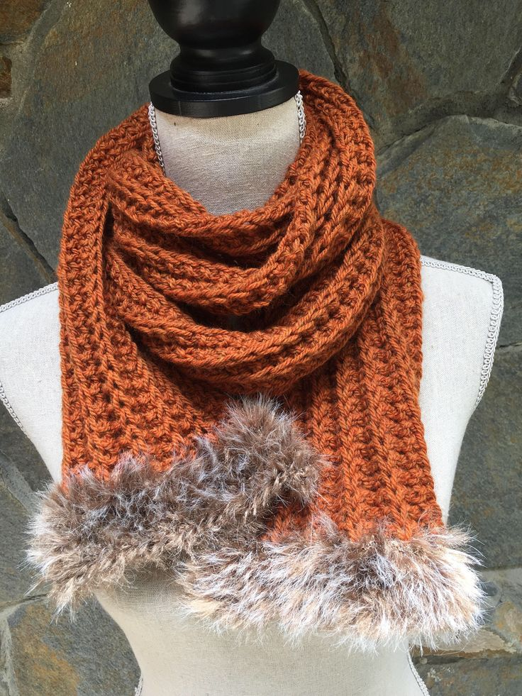 Fur Scarves $35.    A personal favorite from my Etsy shop https://www.etsy.com/listing/553150469/scarves-faux-fur-trim-scarf-long-wrap