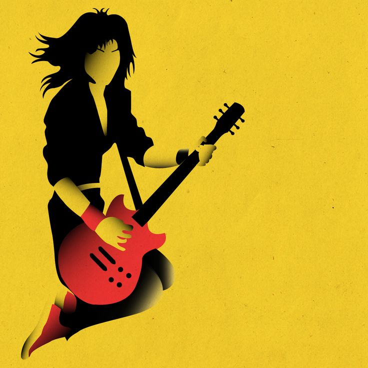 Joan Jett  || Designed by Nefeli Tsalta || #retro #vintage #joanjett #theblackhearts #joanjettandtheblackhearts #therunaways #music #punk #rock #punkrock #runaways #rocknroll #illustration #illustrator #graphicdesign #design #yellow #minimalillustration #digitalillustration #80s #1980s #1970s #70s #1983