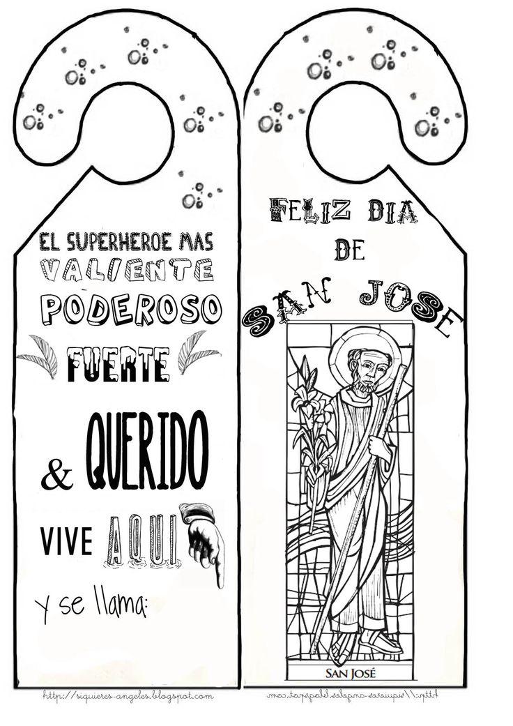 Para celebrar el día de San José y hacerle un detalle a alguna persona querida :-)        Historia de San José