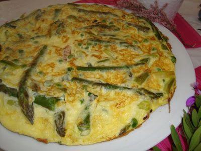 La buona cucina di Katty: Frittata ai cipollotti e asparagi...