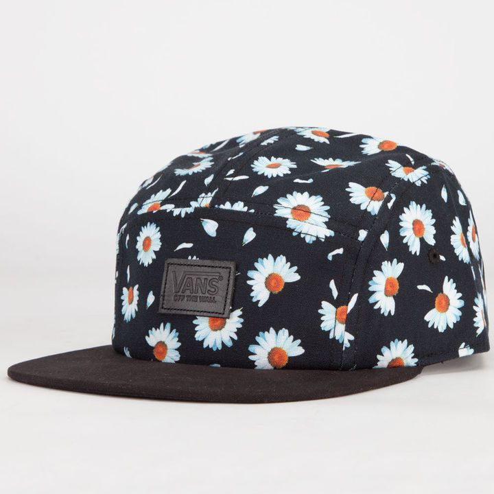 VANS Willa Daisy Camper Womens 5 Panel Hat - a must have item to team with denim shorts or coveralls.