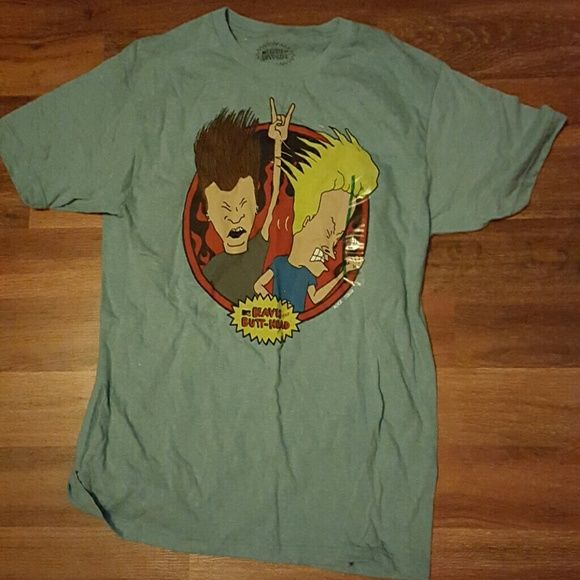 Beavis and Butthead shirt Never worn, still has size label on beavis and Butthead shirt. Make an offer! Tops Tees - Short Sleeve