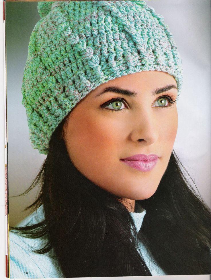 gorros en crochet para mujer - Buscar con Google