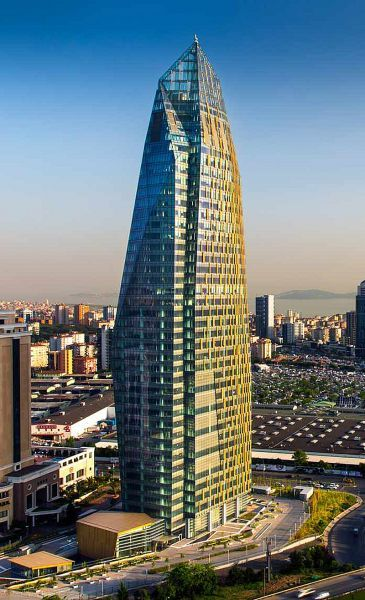 Allianz Tower - Concept Design - The concept design won silver at the International Design Awards in 2012.