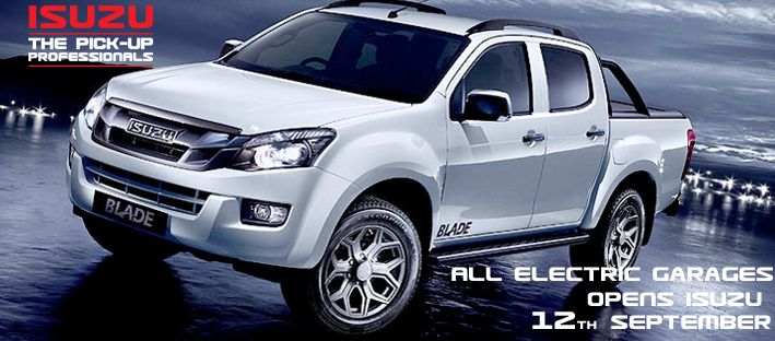 Its Finally Here!  #isuzu http://www.allelectric.co.uk/about-us/isuzucomingsoon/