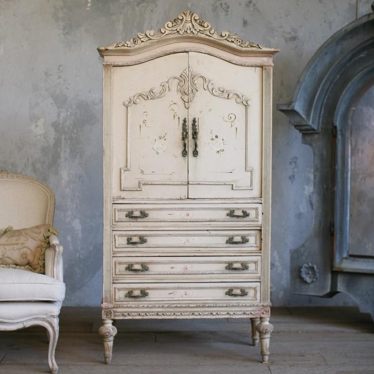 Superior Vintage Armoire
