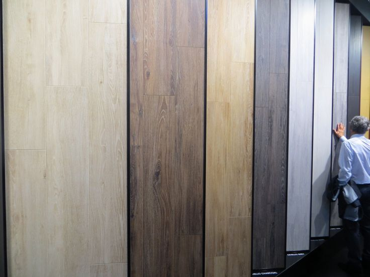Cerdomus Ceramiche presented an ample range of wood effect items in the variety of shades and surface finishes (Mowa, Suite63, Blake, Extreme, Othello).