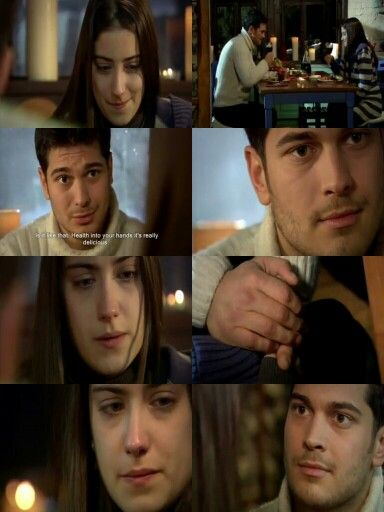 Ep47:Emir:So right now I am going to eat foods that my wife made. Is it like that.Health into your hands it's really delicious. What happened. Feriha:What happened I never thought like this.I mean without my mom and my dad not noticing I didn't  know I was gonna get married. Emir:Do you wanna call your mom. Feriha:No I can't say it on the phone. Emir:Ok.But Do yon wanna go next to her? Feriha:We can't go you don't no what village means.The step we talk the things rolls down and goes.I can't…