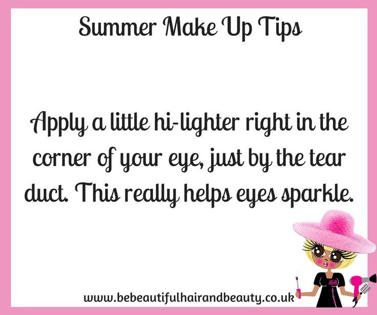Summer Make-Up Tip #6
