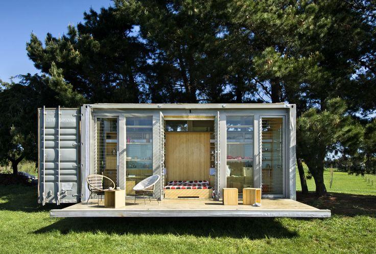 Port-A-Bach Shipping Container Home | iDesignArch | Interior Design, Architecture & Interior Decorating