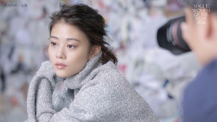 高畑充希女優普段とは違う衣装を着て VOGUE JAPAN Women of the Year 2016
