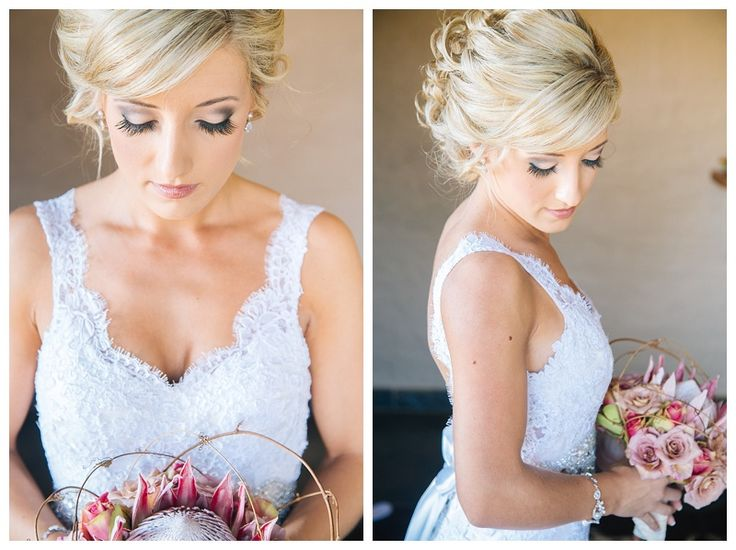 Stunning bride in Lace gown!  Photo by Charl vd Merwe Photography