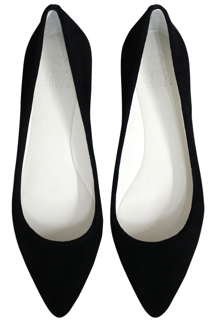 POINTED TOE COLORFUL BLACK