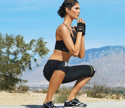 Moves to Rock a Tube Skirt: Work butt, thighs with the Kangaroo move. #SelfMagazine