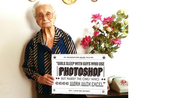 Le ragazze dormono con i ragazzi che usano Photoshop ma sposano quelli che lavorano con Excel @LAB4IT