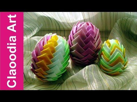 Jajko karczochowe krok po kroku [ribbon egg] - YouTube
