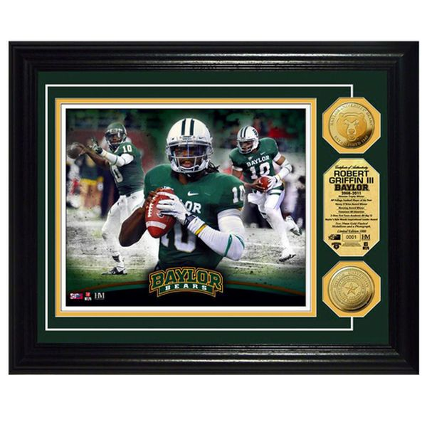 Robert Griffin III Baylor Bears Player Coin Photomint - $49.99