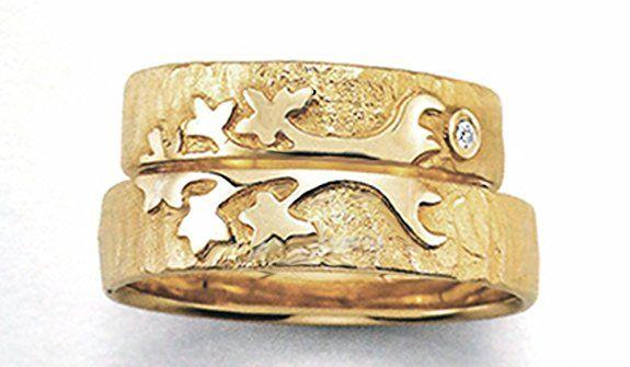 Lebensbaum für die Liebe des Lebens Eheringe, Trauringe, Verlobungsringe, Freundschaftsringe, Partnerringe Silber 925 (3. Gold 750)