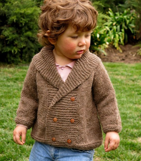 Wonderful alpaca wool coat. Hand knitted!!!