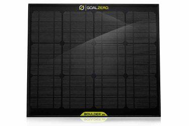 Boulder 30 Solar Panel   Solar Panel   Goal Zero