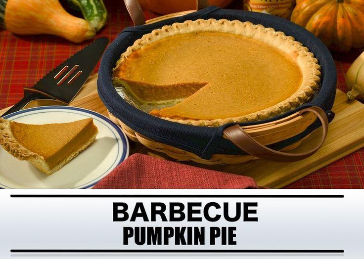 Barbecue recept: pumpkin pie