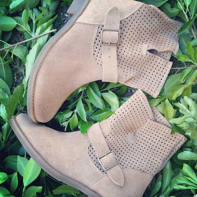 Boho suede boots. Vaquetillas. Made in Spain. www.pasionshoes.com.au