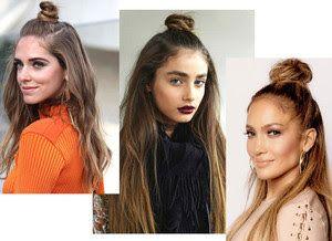 M o d a And S t yle: Длинные волосы ,полупучок - самая модная прическа ...
