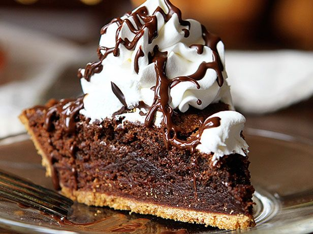 Brownie Pie - recipe calls for graham cracker crust but i think oreo crust would rock.