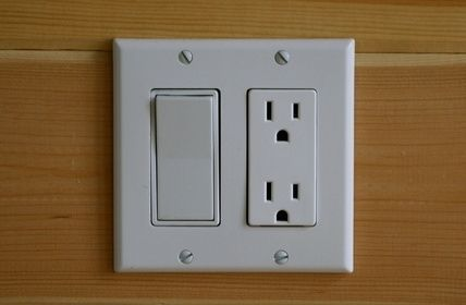 Install Illuminated Rocker Light Switches instead of Toggle Switches.