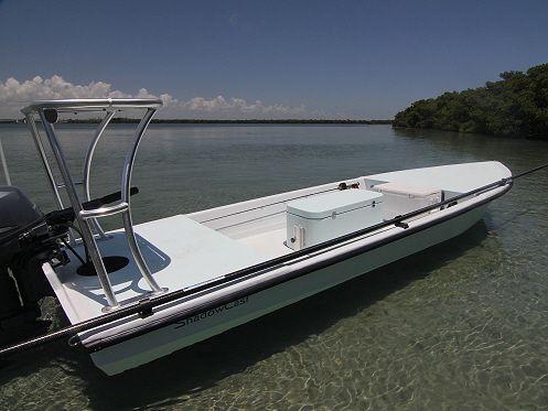 Ankona ShadowCast » Ankona Boats Texas - Shallow water poling skiff