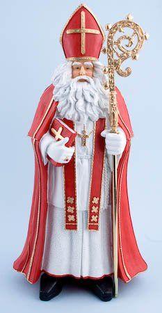 Sinterklaasbeeld, kostuum Amsterdam