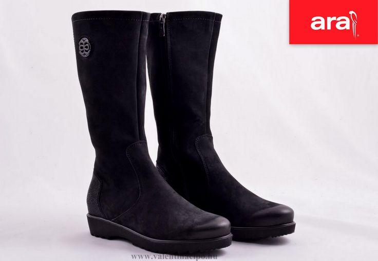 Ara csizma ajánlatunk a hidegebb, fagyos napokra! http://valentinacipo.hu/ara/noi/fekete/csizma/137427139 #ara #csizma #Valentina_cipőbolt